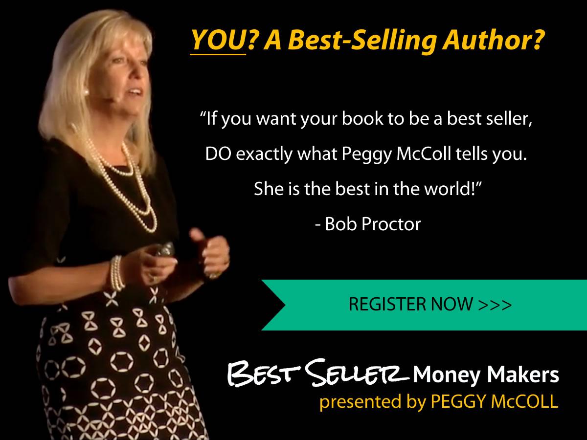 Best Seller Money Maker Peggy McColl